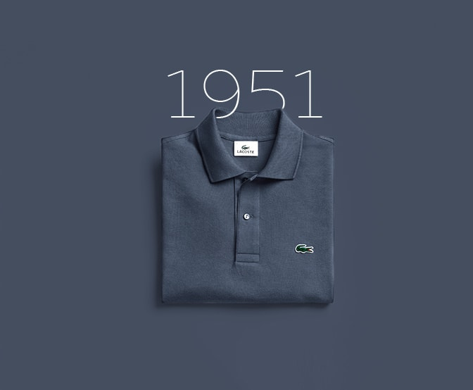 1951 - Lacoste sees life in colour