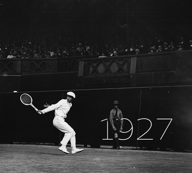 1927 - World number one: the French tennis legend