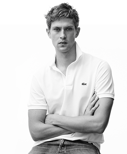 The classic fit polo, a model icon